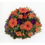 Orange & Blue Posy