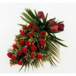 Red Rose Tied Sheaf