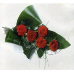 Modern Rose Tied Sheaf