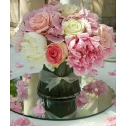 Rose & Peony Table Display